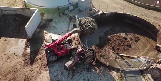 Les agriculteurs deviennent producteurs de gaz vert à Milizac dans le Finistère