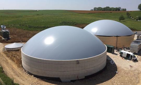 Membrane Systems propose la protection en tissu bouclé pour béton de digesteur