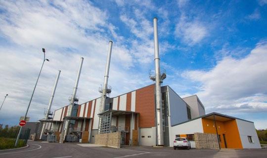 Dijon, 21 MW de chaudières bois Compte R. à la chaufferie des Valendons