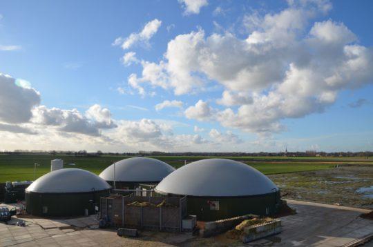 Membrane Systems Europe, constructeur de gazomètres à double membrane