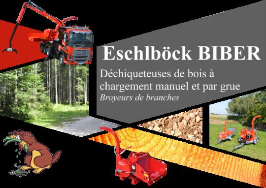 Eschlböck Biber, des machines professionnelles pour tous vos besoins de déchiquetage