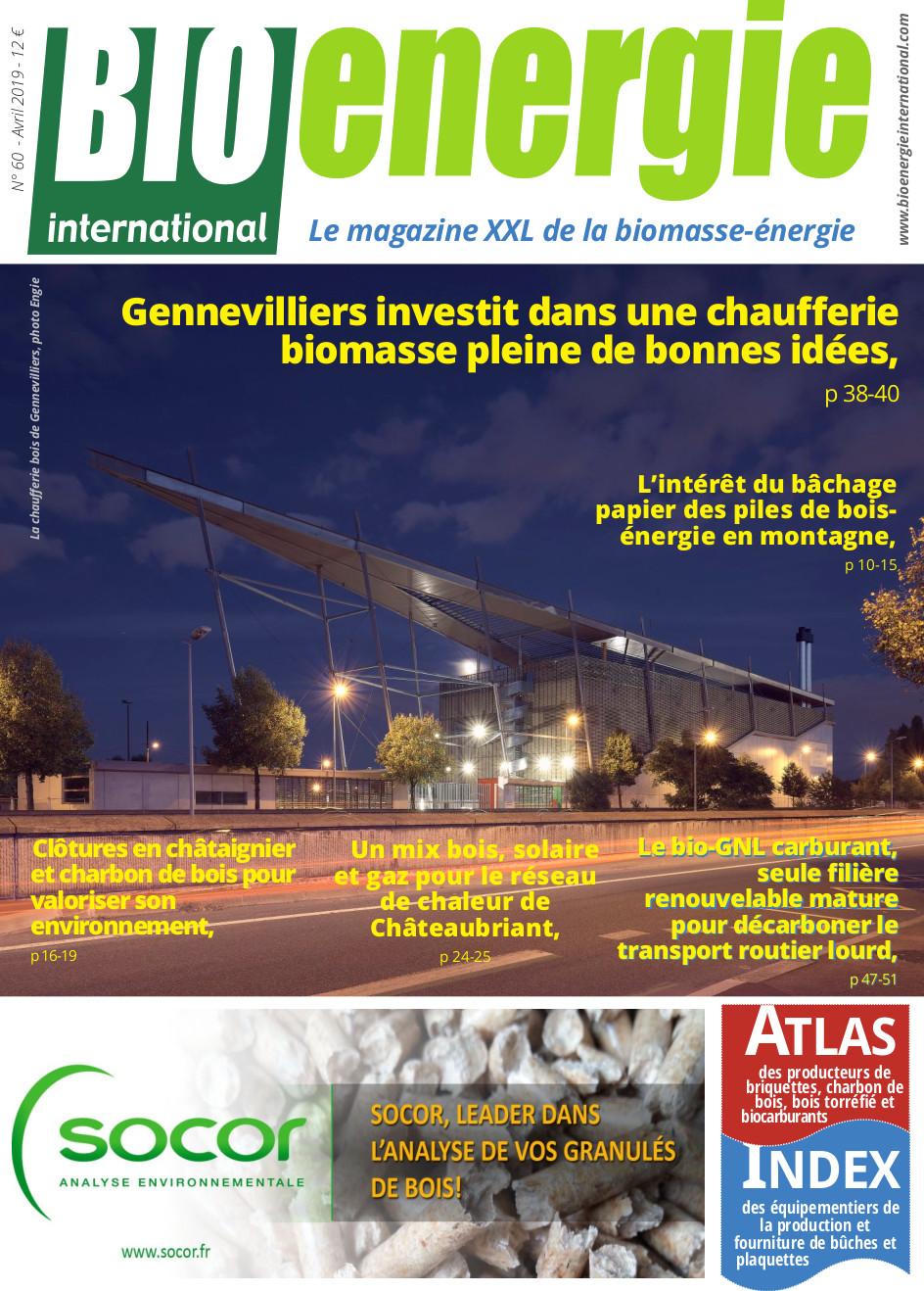 Bioénergie International n°60 – Avril 2019