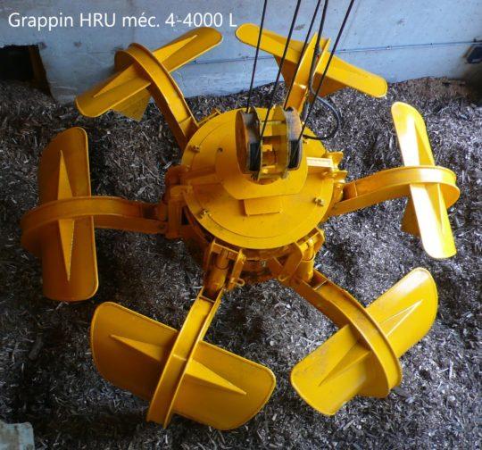 Euroben, fabricant de grappins et bennes électro-hydrauliques