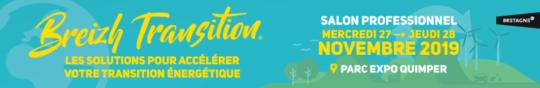 Salon professionnel Breizh Transition 2019, 27 & 28 novembre