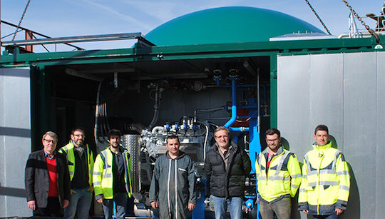 Le fonds Infragreen III finance son premier projet de méthanisation en France
