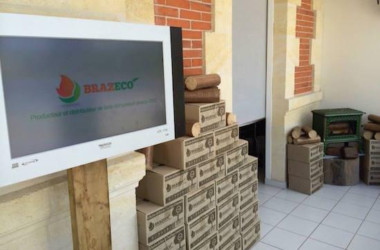 Brazeco/ Engie recherche des partenaires pour développer le marché de la bûche compressée