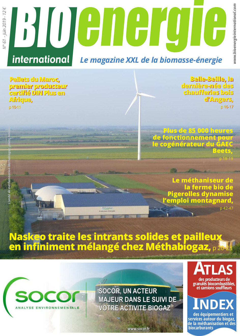 Bioénergie International n°61 – Juin 2019