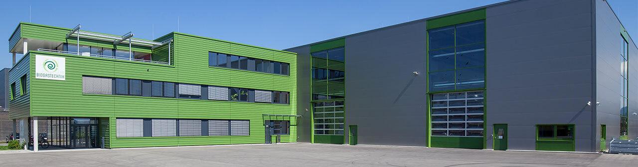 Biogastechnik Süd GmbH, techniques de traitement du digestat par évaporation, d'agitation, de séparation et d'introduction des matières