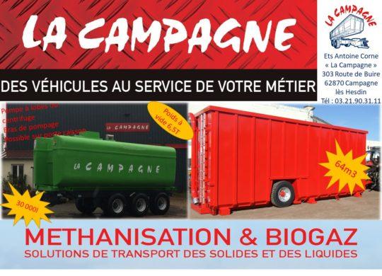 La Campagne, constructeur français de bennes agricoles et TP