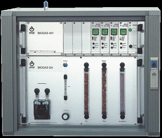 ADOS GmbH · Mesure et régulation pour installations de biogaz