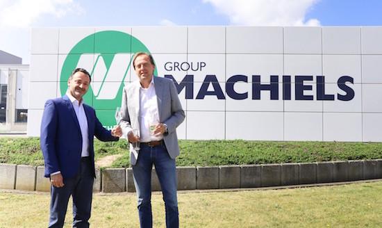Le groupe Machiels devient actionnaire majoritaire de Waterleau