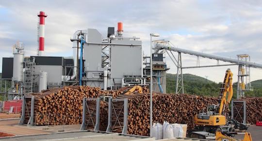 Deux planchers extracteurs de silo Vibrafloor à la centrale biomasse de Brignoles