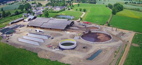 HoSt construit sa première unité de  biométhane de la gamme Microferm+ en France