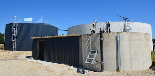 Bio4Gas inaugure une unité de méthanisation à la taille de la ferme au GAEC des Trois Communes