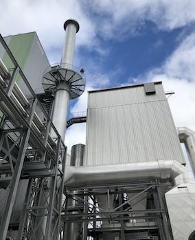 Saica inaugure la chaufferie biomasse de 42,5 MW de sa papeterie de Venizel