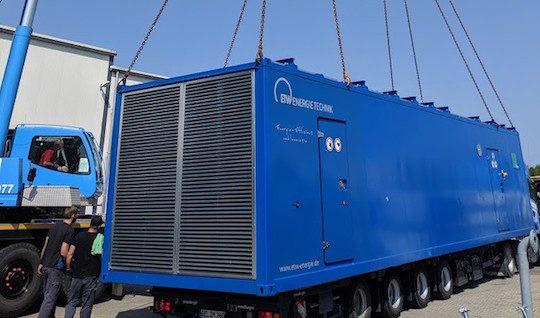 ETW Energietechnik fournit deux unités de cogénération biogaz avec pot catalytique