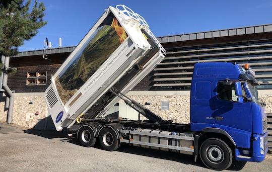 Pour les Transports Touyre, CBQ+ renforce le sérieux et l'image du fournisseur de bois-énergie