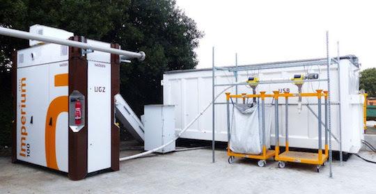 Kerval met en service une micro-centrale alimentée par des déchets