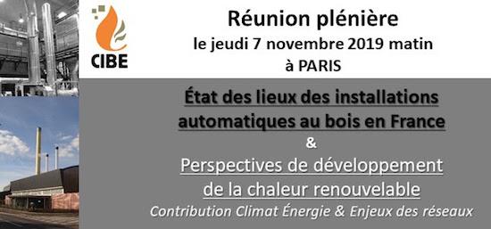 7 novembre 2019, état des lieux des chaufferies bois en France