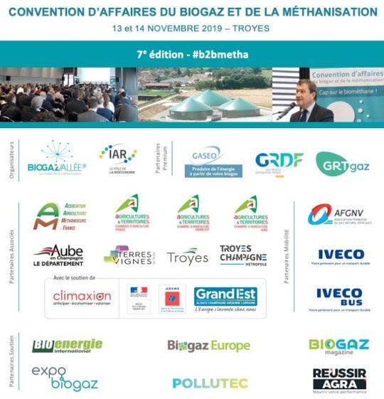 7e Convention d'Affaires du biogaz et de la méthanisation