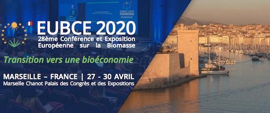 Marseille accueillera le 28éme conférence européenne de la biomasse du 27 au 30 avril 2020