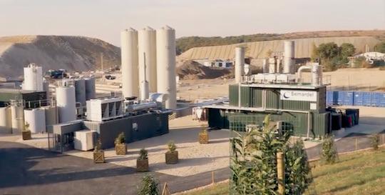La valorisation du biogaz sur  l'Ecosite de Vert-le-Grand et Echarcon