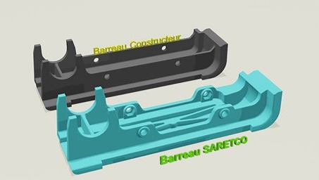 Saretco optimise les barreaux de grille standard pour foyers biomasse