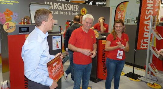 Hargassner célèbre sur Interclima sa 20 millième chaudière à bois livrée en France