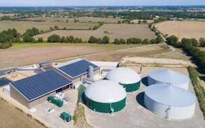 La centrale biénergies biométhane & photovoltaïque des Terres de Montaigu