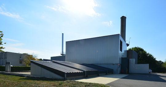 La chaufferie bois-solaire-gaz du réseau de chaleur de Châteaubriant