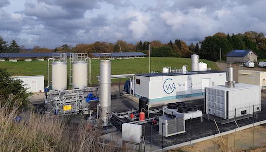 Première injection de biométhane à l'ISDND de Lorient Aglomération