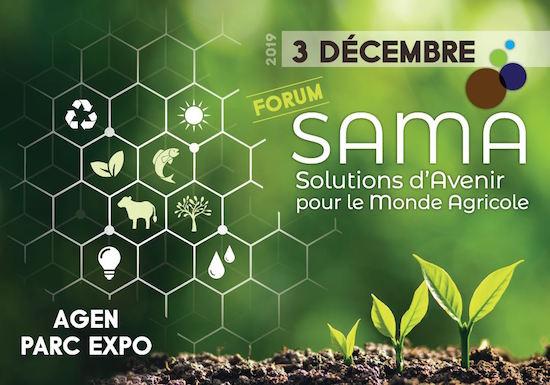 3 décembre 2019, forum Solutions d'Avenir pour le Monde Agricole