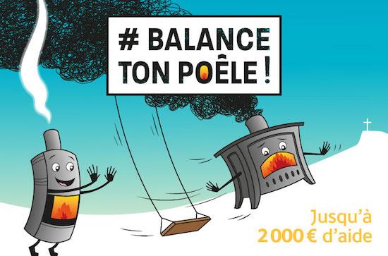 Balance ton poêle pour  améliorer la qualité de l'air et dépenser moins !