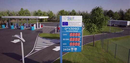 Une nouvelle station service GNV/bio-GNV à Wissous dans l'Essonne
