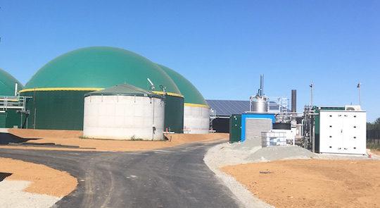 Depuis le 25 septembre 2019, l'unité de méthanisation de Celles-sur-Belle produit  du biométhane