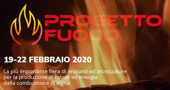 19 au 22 février 2020, Progetto Fuoco, le plus grand salon bois-énergie au Monde