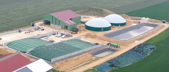 La centrale de biométhane Mahé Bioénergie à Boutigny est en service