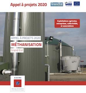 Appel à projets de méthanisation Grand Est jusqu'au 20 avril 2020