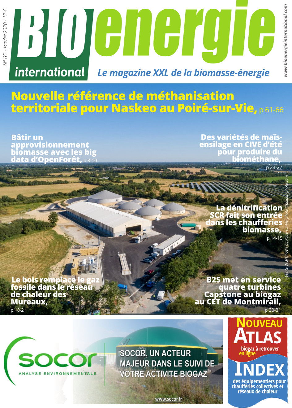 Bioénergie International n°65 – janvier 2020