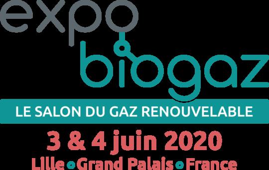 3 & 4 juin 2020, Expobiogaz, salon du gaz renouvelable