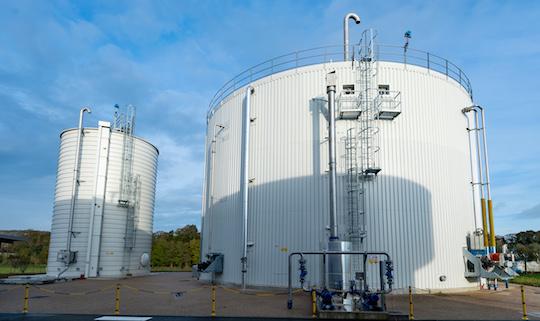 La STEP des Mureaux, première d'Ile-de-France à injecter du biométhane