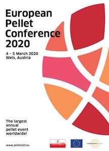 4 et 5 mars 2020 à Wels, conférence européenne des granulés de bois