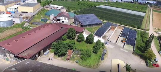 Le pôle expérimental du Lycée agricole d'Obernai sur les digestats de méthanisation