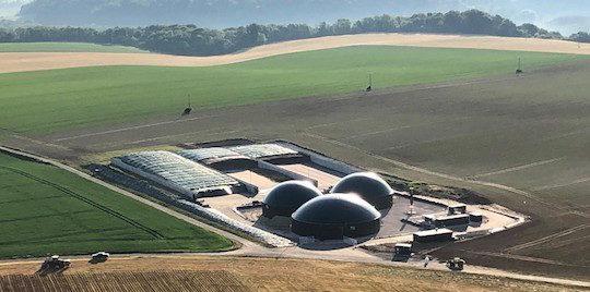 Saconin Biométhane dans le Soissonnais, une production 100 % végétale
