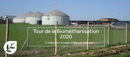 5, 16 & 31 mars 2020, trois visites pour découvrir la méthanisation en Wallonie