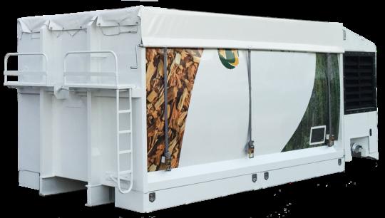 Cubas Segre, lance un caisson souffleur autonome pour plaquettes