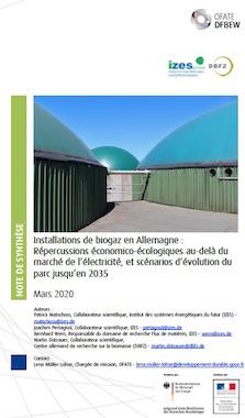 Situation et avenir des installations de méthanisation agricole en Allemagne