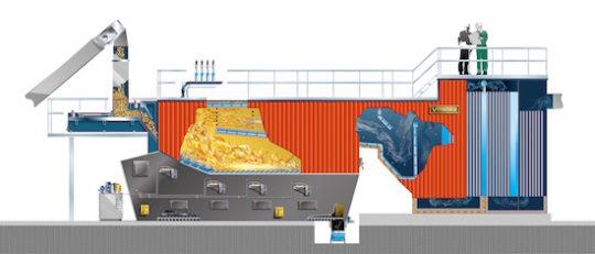 DWS-Hybrid Multifuel Vyncke, la grille biomasse la plus souple d'utilisation au monde