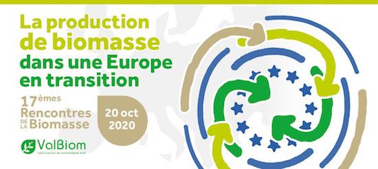Les 17e rencontres de la biomasse reportées au 20 octobre 2020 à Bouge en Wallonie