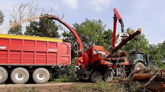 En Vendée, les outils de Valdéfis pour produire du bois-énergie certifié CBQ+